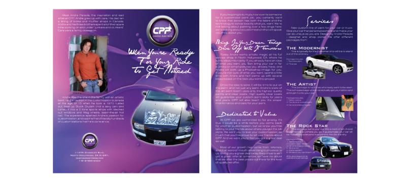 Half Fold Brochure