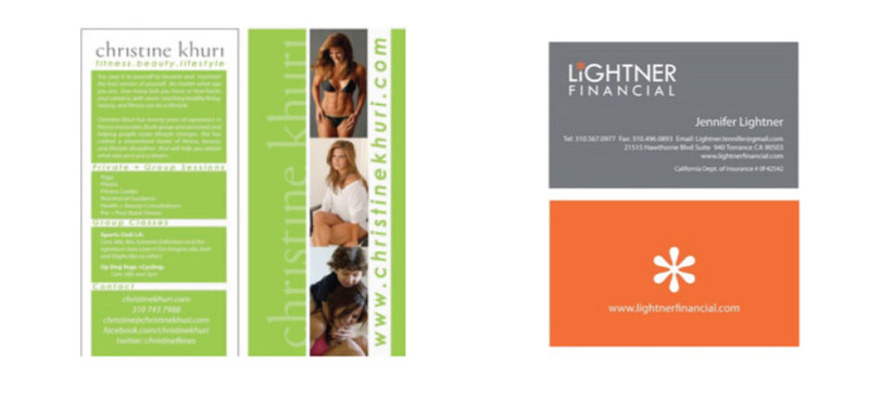 Brochure, Business Card